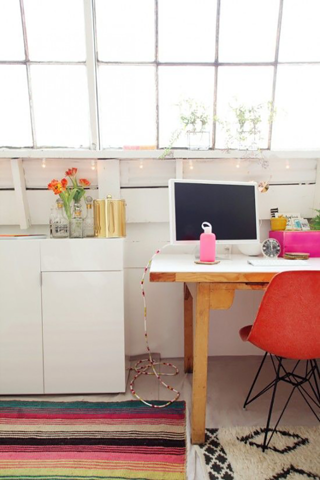 Colorful Bright Office