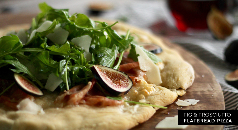 Fig & Prosciutto Flatbread Pizza